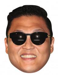 Máscara de cartón Psy™ Gagnam Style