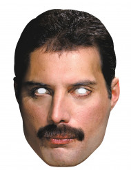 Máscara Freddy Mercury™ cartón