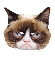 Máscara cartón El gato gruñón