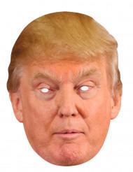 Máscara de cartón Donal Trump