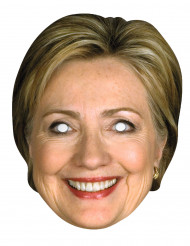 Máscara Hilary Clinton cartón