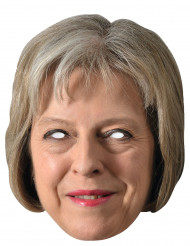Máscara de cartón Theresa May