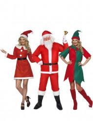 Disfraz de grupo Navidad adulto