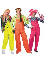 Disfraz de grupo traje fluorescente