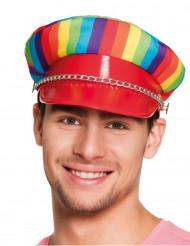 Gorra multicolor adulto