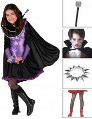 Disfraz de vampiro elegante para niña