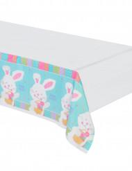Mantel de plástico conejo de Pascua
