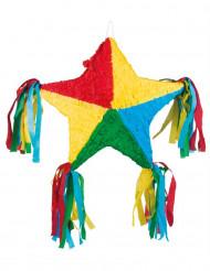 Piñata estrella multicolor 51x56 cm