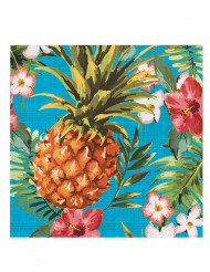 16 Servilletas de papel Tropical 33x33 cm