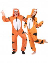 Disfraz de pareja traje de tigre