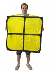 Disfraz de Tetris™ amarillo adulto Morphsuits™