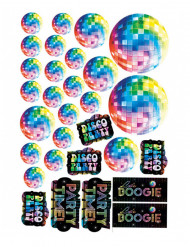 30 Decoraciones de cartón disco