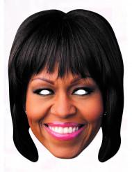 Máscara de cartón Michelle Obama