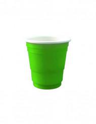 20 vasos verdes para chupito 4 cl