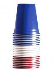 20 Vasos tricolor 53 cl