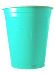 20 Vasos turquesa 53 cl