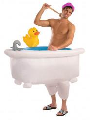 Disfraz bañera hinchable adulto