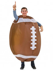 Disfraz de fútbol americano hinchable para adulto
