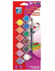 Set de pintura acrílica 12 colores Lefranc & Bourgeois®