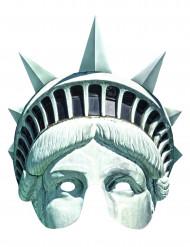 Máscara de cartón Estatua de la Libertad
