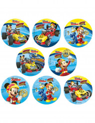 16 Mini discos de azúcar Mickey™ 3,4 cm