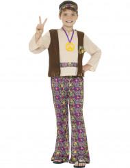 Disfraz Hippie peace para niño