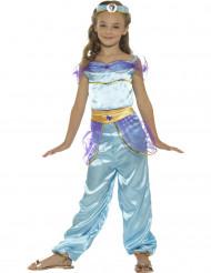 Disfraz princesa árabe azul niña