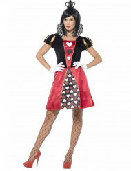 Disfraz de Miss reina de cartas