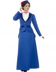 Disfraz niñera victoriana mujer