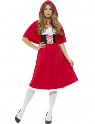 Disfraz caperucita roja de cuento mujer