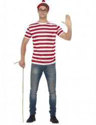 Disfraz para adulto de ¿Dónde está Wally?™
