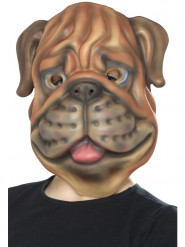 Careta cabeza de perro niño