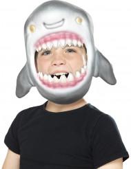 Careta cabeza de tiburón niño