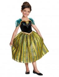 Disfraz de Anna Frozen™ Coronación para niña