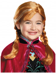 Peluca Anna Frozen™ niña