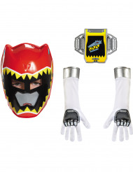 Kit accesorios Power Rangers™ Dinocharge rojo niño
