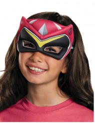Semi máscara Power Rangers™ Dinocharge rosa infantil