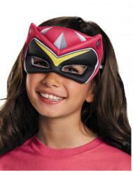 Semi máscara Power Rangers™ Dinocharge rosa infantil