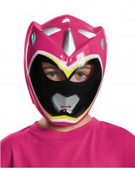 Máscara Power Rangers™ Dinocharge rosa infantil