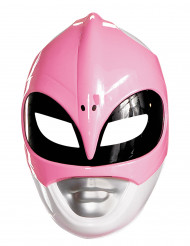 Máscara Power Rangers™ rosa adulto