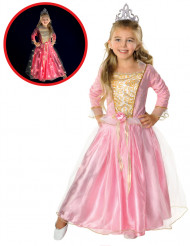 Disfraz Princesa rosa brillante Niña