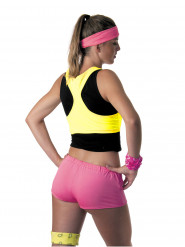 Top amarillo fluo Mujer