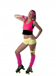 Top rosa fluo Mujer