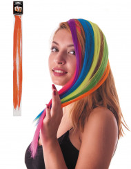 Mecha naranja clip para el pelo