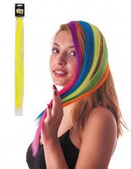 Mecha amarilla clip para el pelo
