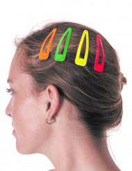 4 Horquillas coloridas