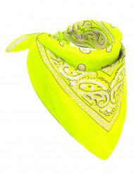 Pañuelo amarillo fluo adulto