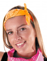 Bandana naranja fluo adulto