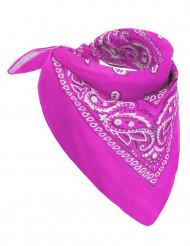 Pañuelo rosa fluo