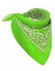 Pañuelo verde fluo adulto
